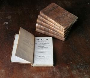 Delphine, roman de Madame de Staël, en 6 volumes. Paris, 1803.
